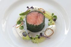 Food at Frederick's Restaurant at Langrish House, Petersfield, Hampshire