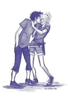 Hehehe <3 Annabeth and Percy