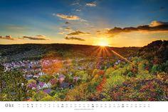 Kalender Jena 2015 - UrbanDreams - SONNENAUFGANG
