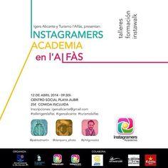 El sábado acudiré a #Tallerigerslalfas con Instagramers Academia #Alicante  Promete!! Alicante, Academia, Map, Marketing, Instagram, Socialism, Social Networks, Tourism, Trends
