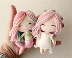 Artist Creates Cute DIY Dolls And Sells Their Patterns So You Could Make One Too | Bored Panda