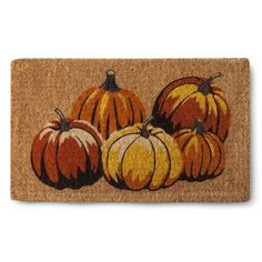 Smith & Hawken ® Pumpkins Coir Door Mat Perfect for fall