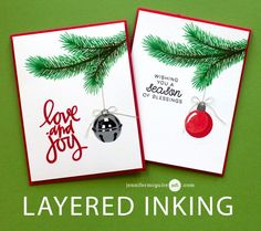 Layered Inking Video by Jennifer McGuire Ink