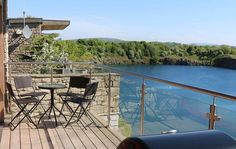 View of the Day! @jackdawlodge #Lodge #England https://www.luxurylet.com/properties/details/jackdaw-quarry-lodge/ #Quarry #Lodge #View #Scenery #Scenic #TTOT #LuxuryTravel #Luxury #Travel #Deck #EcoLodge #Eco #Bay