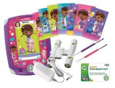 LeapFrog LeapPad2 Power Learning Tablet – Doc McStuffins Bundle – Review - Cool Toy Review Holiday Gift Guide, Holiday Gifts, Christmas Gifts, Christmas Ideas, Black Friday Toy Deals, Doc Mcstuffins, Top Toys, Disney Junior, Amazon Deals