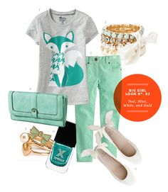 Big Girl Outfits | The Kids' Dept. | Big Girl Look No. 3 - click for sources and more inspiration!