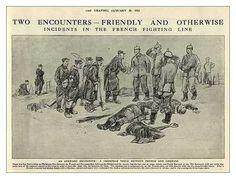 PHOTOS ET DESSINS: TREVE DE NOEL | 1ère guerre mondiale | Pinterest ...