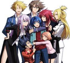 Miwa, Misaki, Kamui, Kai, Aichi, Emi, Ren and Kourin