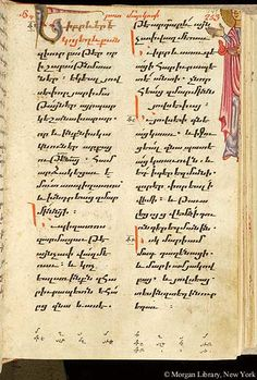 Gospel book, MS M.749 fol. 147r - Images from Medieval and Renaissance Manuscripts - The Morgan Library & Museum