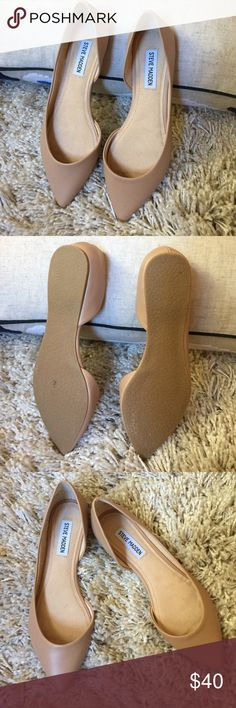 Like  Steve Madden Pointed Beige Flat + Mint condition  + Perfect for fall !   + Don't forget to bundle!   ⭐️All items are steamed cleaned and shipped within 48 hours of your purchase. ⭐️If you would like any additional photos or have any questions please let me know. ⭐️Sorry, no trades. But will listen to ALL fair offers. Thanks for shopping! Steve Madden Shoes Flats & Loafers