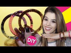 DIY PULSEIRA E CANETA LÍQUIDA (DIY LIQUID BRACELET AND PEN) - YouTube
