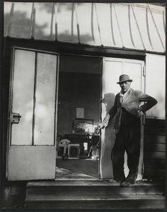 Georges Braque à Varangeville, région Lorraine (Brassaï, 1949)