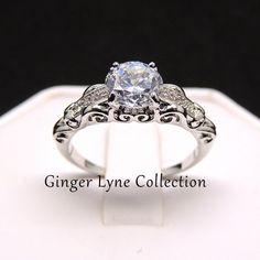 Olivia, Beautiful Engagement Ring AAA CZ Ring