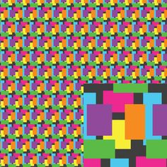 #Rectangles This is part of my January 2015 series #Tiny Repeats. #EmpireRuhl #pattern
