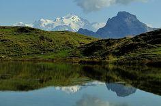 #lac de #Peyre en #HauteSavoie : un magnifique #paysage de #montagne