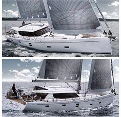 Moody 54 DS || #moody54ds #moodydecksaloon #triodeniz #moodyboats #cnr…