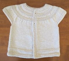 Simple & Sweet Baby Sweaters