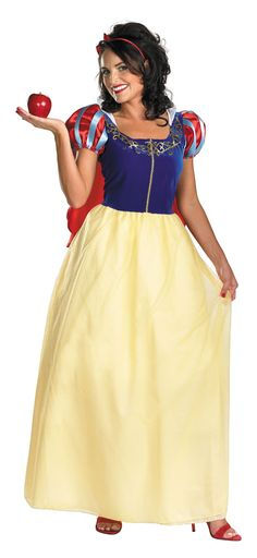 Deluxe Adult Snow White Costume - Disney's Snow White Costumes