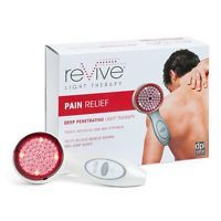 reVive Pain Relief Light Therapy Handheld System, Multicolor