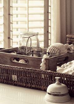 Riviera Maison wicker tray