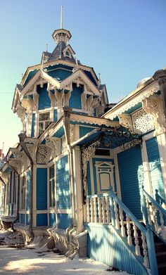 accidentallyarchitectural:  Somewhere in Russia  Micoley's picks for #VictorianHomes www.Micoley.com