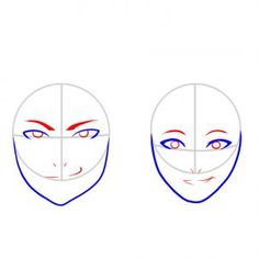 How To Draw A Face For Kids With This Easy Step By Step Guide.  (Step Three Of Six)