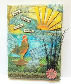 Artfully Articulate: Stampendous and Faber-Castell Blog Hop Finale!