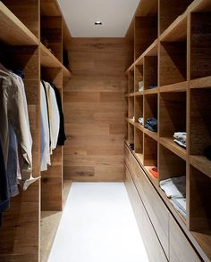 Smoked & Limed American Oak timber by Royal Oak Floors has been used by Robson Rak Architects in this beautiful walk in robe. I've got robe envy! Walking Closet, Australian Interior Design, Interior Design Awards, Design Interiors, Modern Interior, Walk In Closet Design, Closet Designs, Bedroom Designs, Wardrobe Design