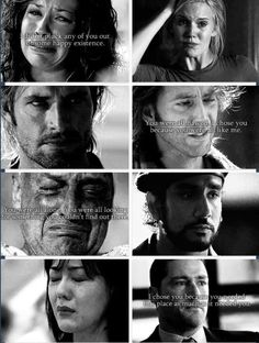 The essence of Lost: It's not about what you can see. It's realizing that everything that has ever happened to you happened for a reason, no matter how heartbreaking or confusing it is.