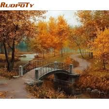 Image result for paisajes otoñales para pintar