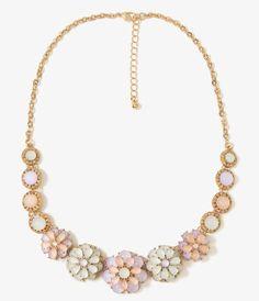 2015 Nueva Llegada de La Manera Mujeres Collares y Colgantes de Joyería de Moda Enlace Cadena Gargantillas Collar de Flores Colgante Para El Regalo Del Partido