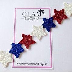 Fourth of July Stars Headband Shine like the by GlamBOWtiqueShop