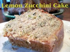 Lemon Zucchini Cake/Moore or Less Cooking
