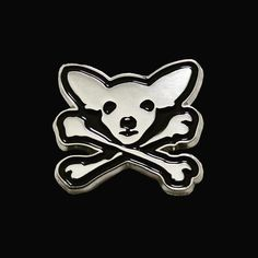 #Repost @kanebanner  New Chihuahua Crossbones pin available now from link in my bio. Profits going to @freethechi who help find homes for abused and forgotten pups. Please support this great cause.  #adoptdontshop #rescuedog #masonsofkenya #freethechi #enamelpins #pins #chihuahuas #chihuahuasofinstagram #streetchihuahuas #patchgame #chihuahua #animalwelfare #crossbones