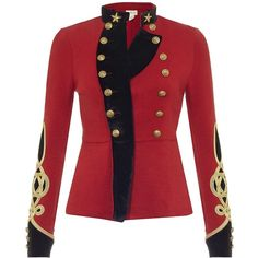 Denim & Supply Ralph Lauren Bohemian Military Jacket ($265) ❤ liked on Polyvore