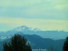 Pikes Peak View 07March2014 by MSchmidtPhotography.deviantart.com on @deviantART