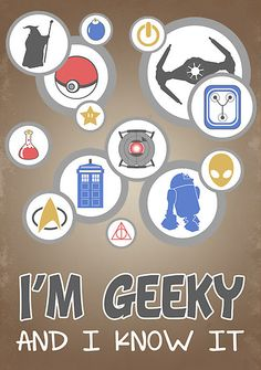 I'm Geeky and I Know It by thehookshot