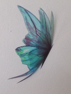 Hey, I found this really awesome Etsy listing at https://www.etsy.com/listing/243141683/2-bright-duck-egg-teal-fairy-wings