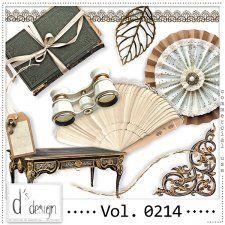 Vol. 0214 - Vintage Mix  by Doudou's Design  #CUdigitals cudigitals.com cu commercial digital scrap #digiscrap scrapbook graphics