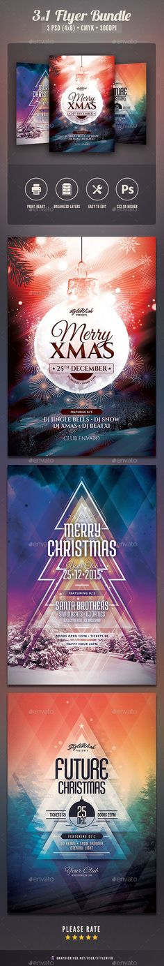 Christmas Flyer Template  Posterseishons    Christmas