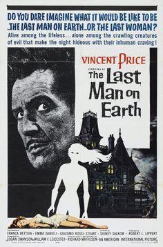 1964 - El último hombre sobre la  tierra (The last man on earth) Sidney Salkow, Ubaldo Ragona