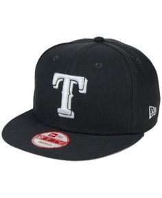 New Era Texas Rangers C-Dub 9FIFTY Snapback Cap - Gray Adjustable