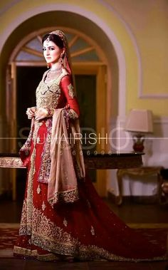 New Asian Barat Day Dresses Designs for Wedding Bridals Latest Collection 2015-2016 (30)