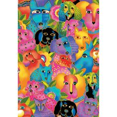 New Laurel Burch Dogs & Doggies ~ 2015 Design PRE-ORDERS ONLY!!  Ships in September/October 2015 by Fabricatti on Etsy