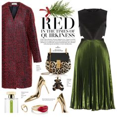How To Wear Christmas Fusion Outfit Idea 2017 - Fashion Trends Ready To Wear For Plus Size, Curvy Women Over 20, 30, 40, 50
