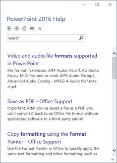 Tell Me in #PowerPoint 2016 for Windows