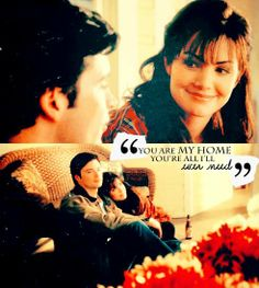 """""""You're my home. You're all I'll ever need."""" - Lois Lane #Smallville  #Clois"""