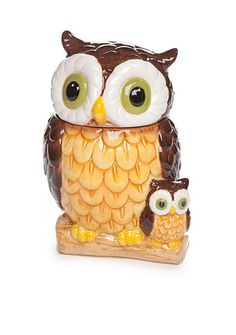 Home Accents® Harvest Owl Cookie Jar