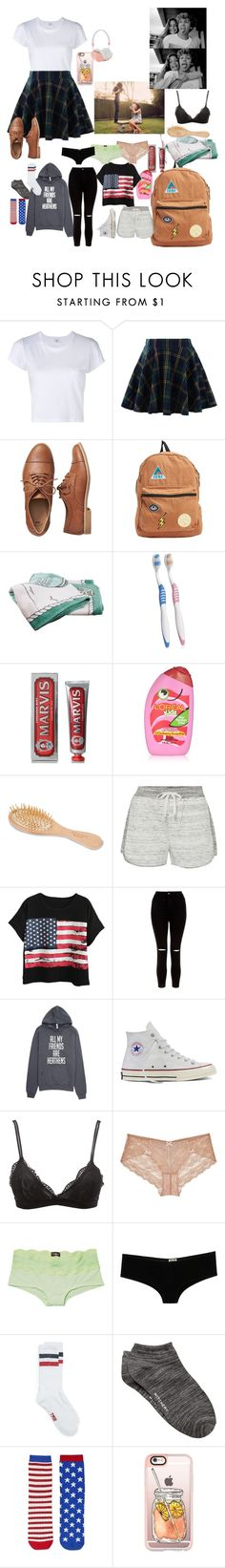 """""""visiting friend for the weekend"""" by lifeisnotwonderland ❤ liked on Polyvore featuring RE/DONE, Chicwish, Gap, Billabong, Hermès, Marvis, L'Oréal Paris, Urban Spa, Calvin Klein and Chicnova Fashion"""