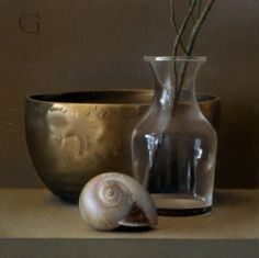 David Gray, still life, classical realism, contemporary realism, oil painting, realism: